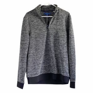 NWT Vince Camuto Men's Pullover Black White top